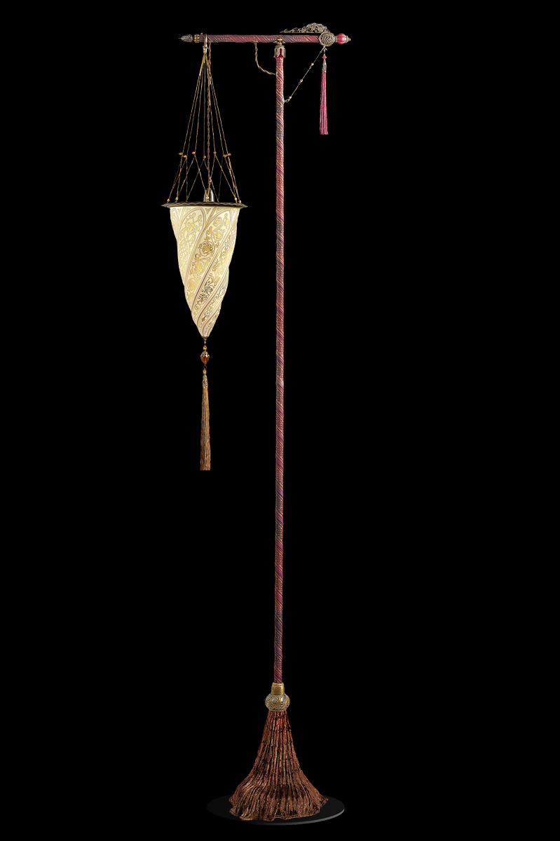 Glass Cesendello floor lamp
