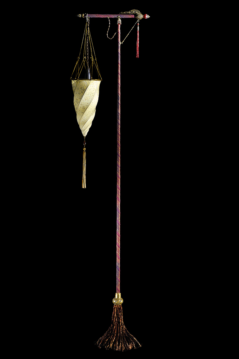 Silk Cesendello floor lamp