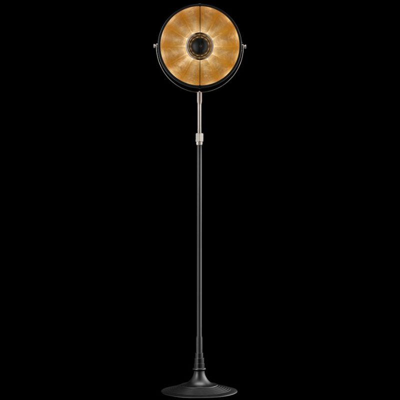 Fortuny lamp Studio 1907 Atelier 32 black and gold