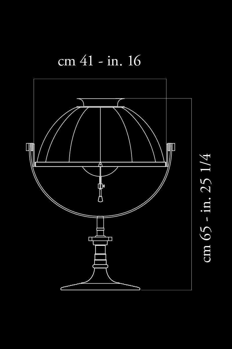 Fortuny Armilla lamp dimensions