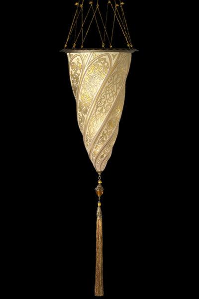 Cesendello Chandelier glass ceiling lamp single