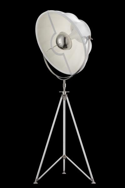 Fortuny Studio 76 floor white lamp