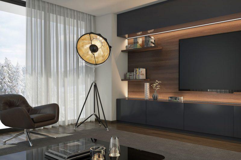 Fortuny Studio 76 gold lamp