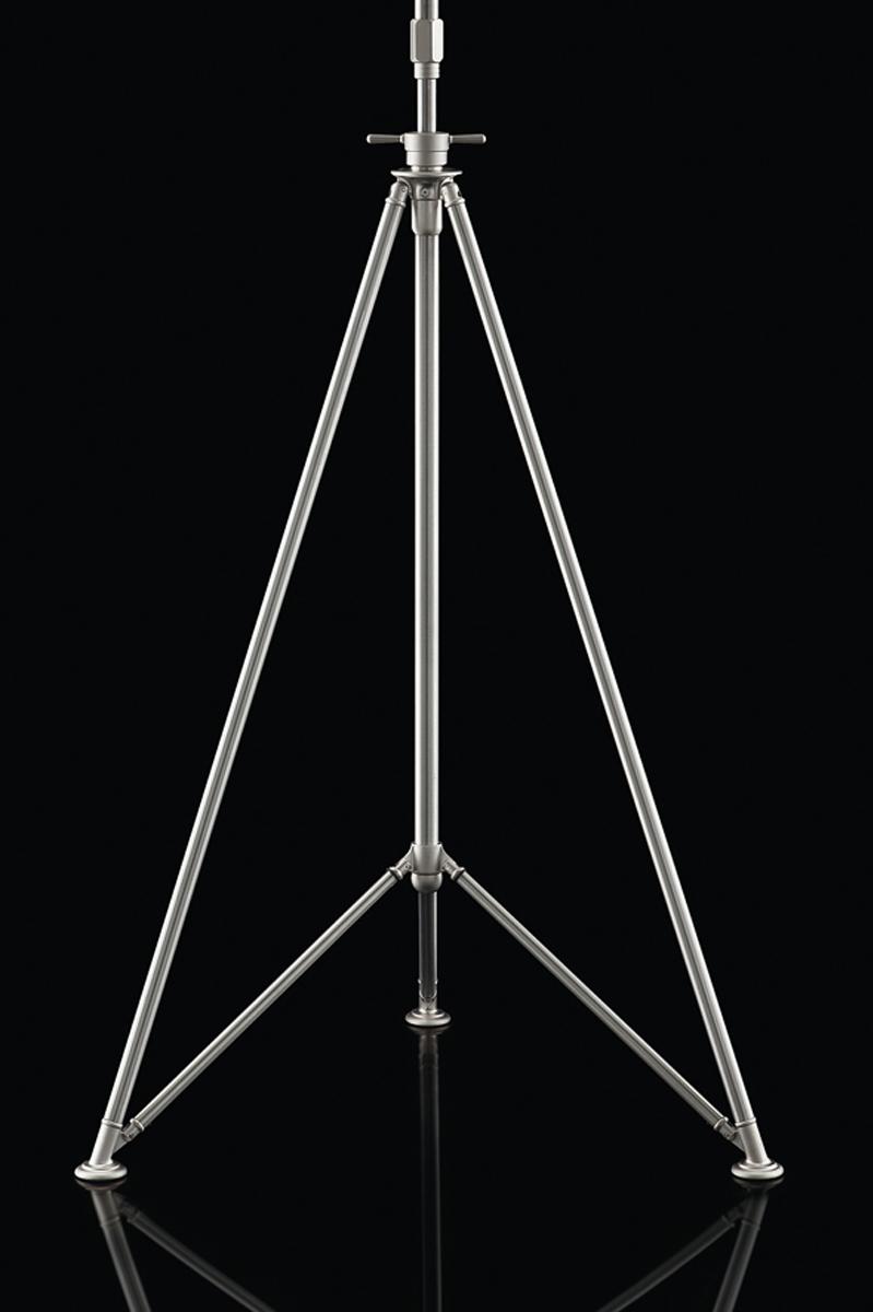 Fortuny studio floor steel tripod