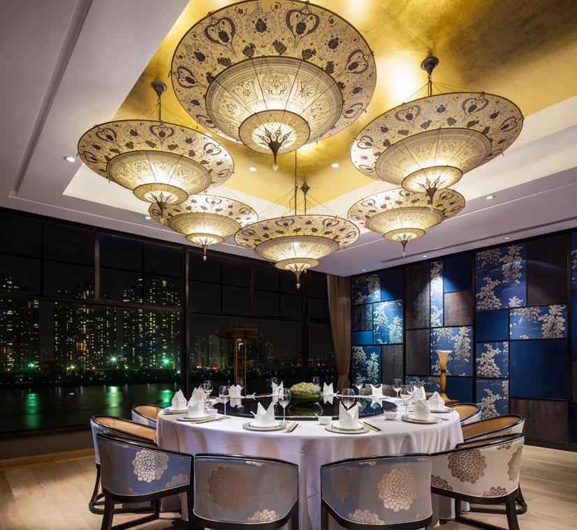 Scheherazade Fortuny at Y2C2 Restaurant in Shanghai