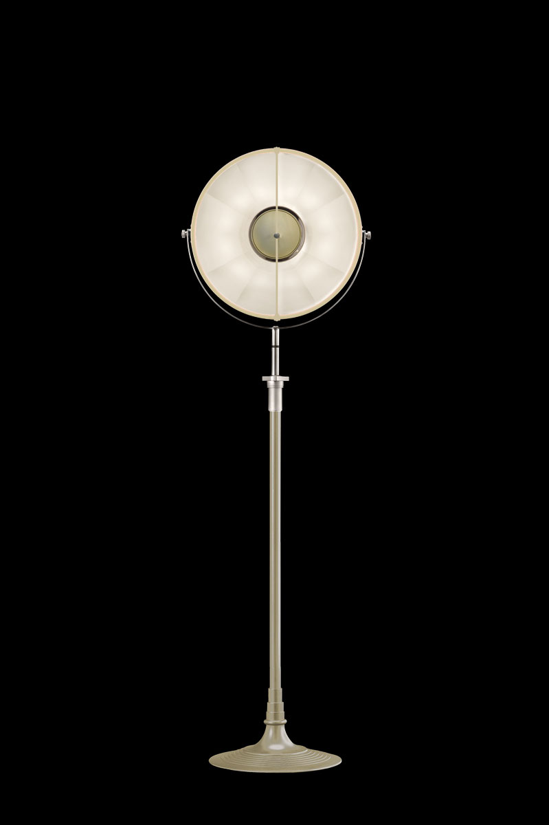 Fortuny Atelier 41 floor lamp quartz & white leaf