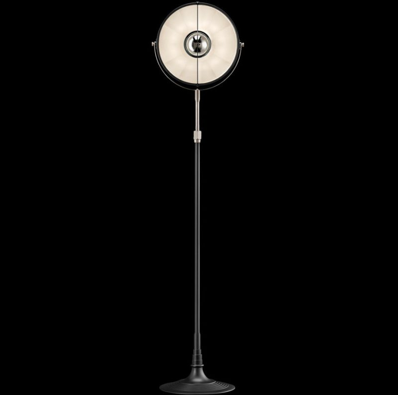 Fortuny lamp Studio 1907 Atelier 32 black and white