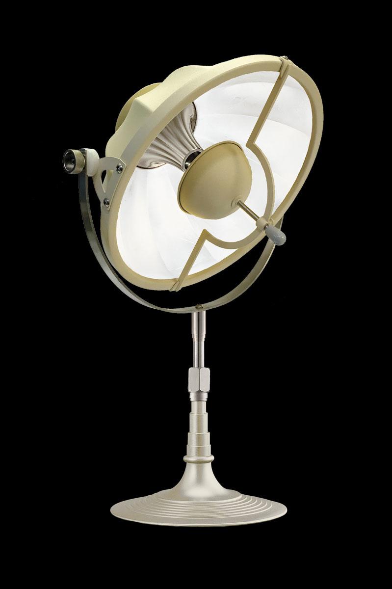 Fortuny Armilla 32 Table Lamp Quartz & White
