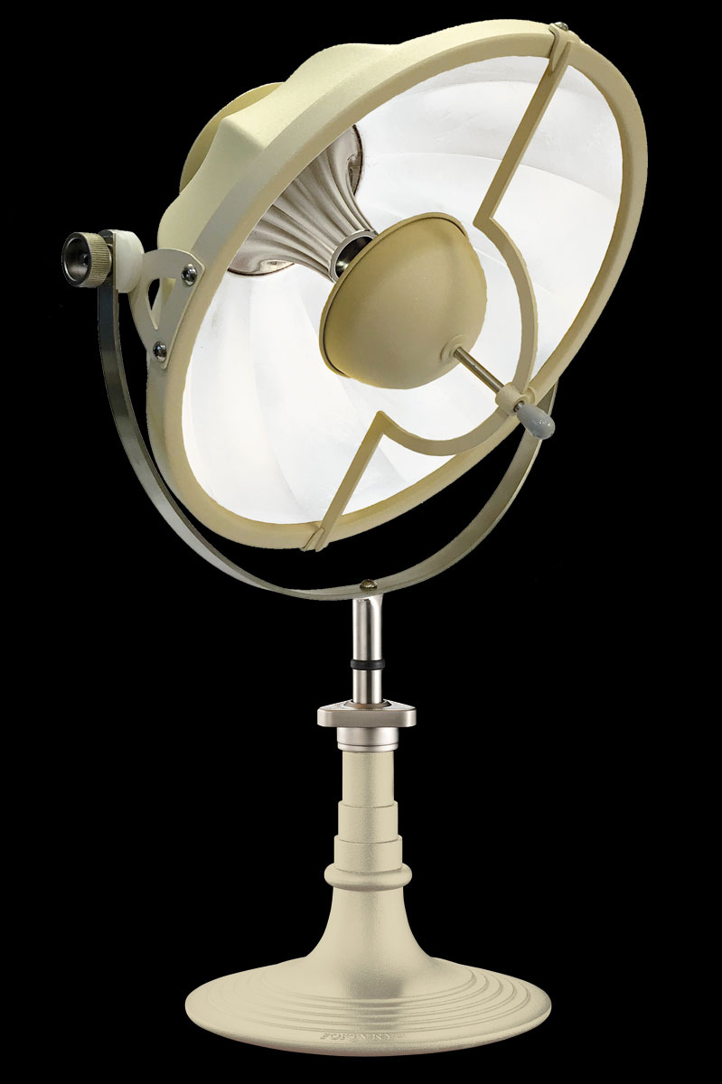 Fortuny Armilla 41 Table Lamp Quartz & White