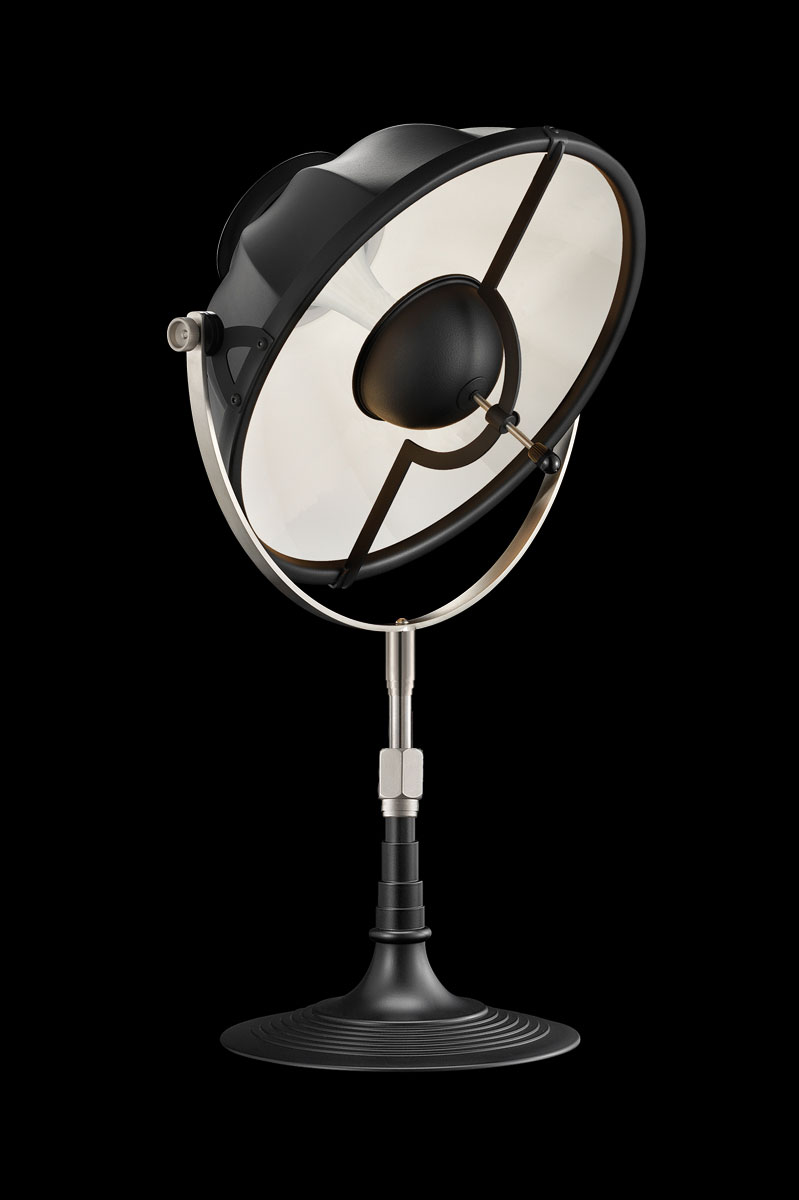 Fortuny Armilla 32 Table Lamp Black & White