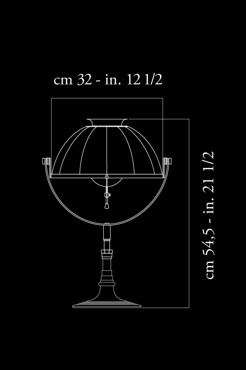 Fortuny Armilla 32 lamp dimensions