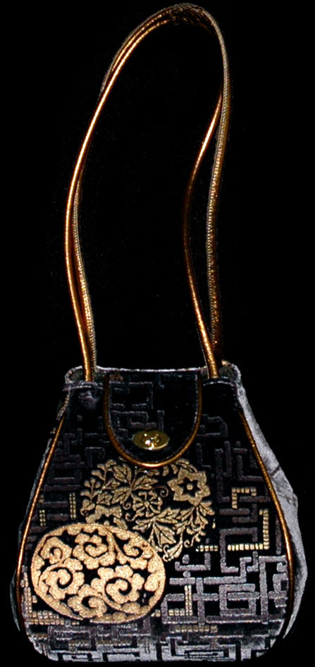 Fortuny Moretta 919 printed velvet bag