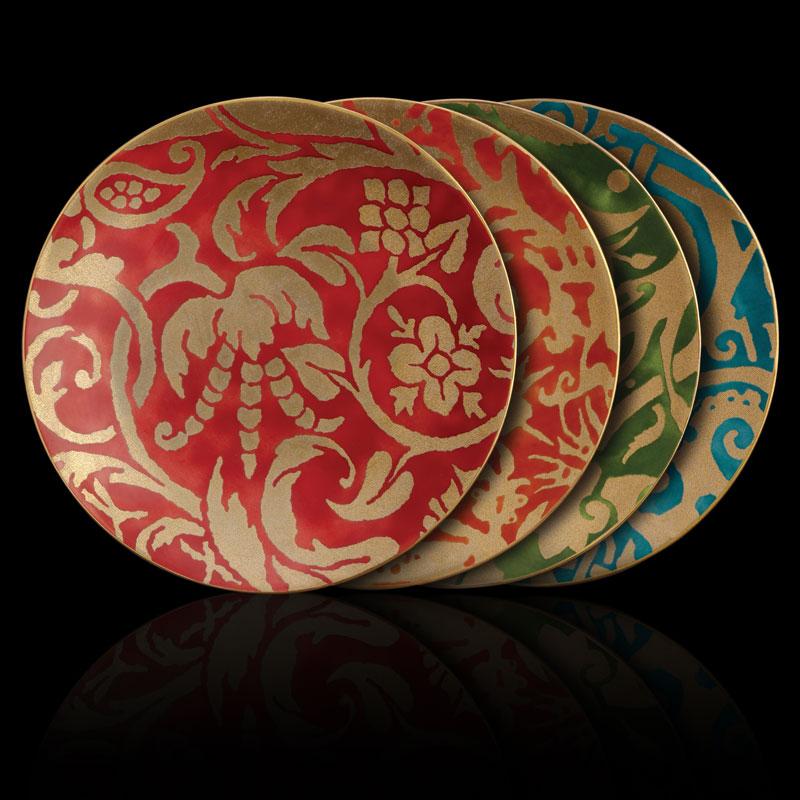 Fortuny tableware dessert plates set of 4