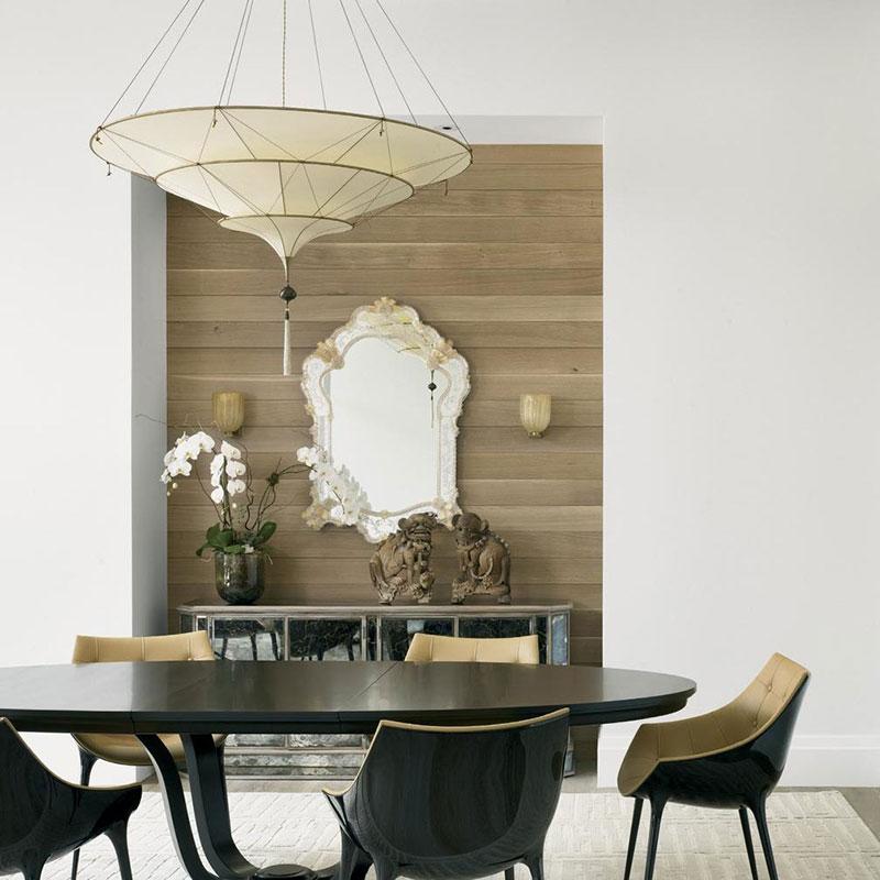 Plain silk lamps